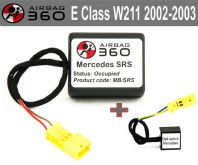 Mercedes E Class w211 Front  Passenger Seat mat Occupancy Sensor, occupied recognition sensor  emulator / bypass